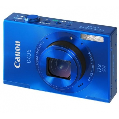 CANON IXUS 500 HS modrý